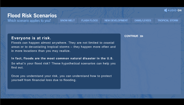 Flood Risk Scenario Tool