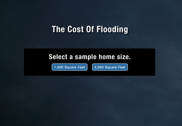 The Cost of Flooding – Calculation Tool