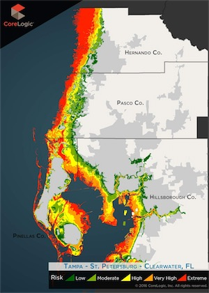 Storm surge imperils 455,000 Tampa Bay homes, report says